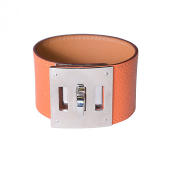 Hermès Kelly Dog Bracelet Orange