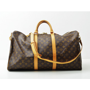 Louis Vuitton Keepall 55 med rem