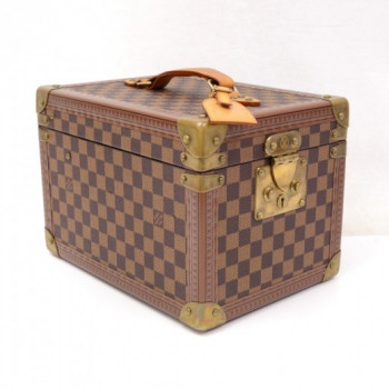 Louis Vuitton Boite Flacons Damier Canvas Cosmetic Box