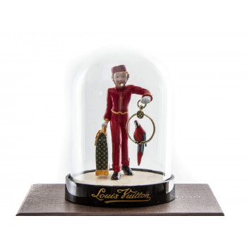 Louis Vuitton Porter Bell Boy Snow Globe