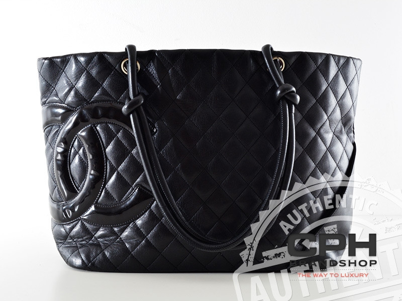 f545daf18e9e Chanel Cambon Tote Shoulder bag in Black | Purchase at cphbrandshop.com