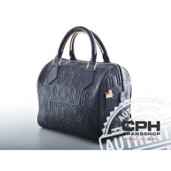 "Louis Vuitton Speedy 25 ""Black Cube"""