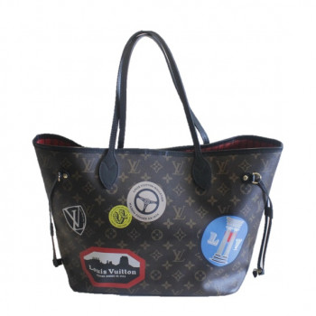 Louis Vuitton Limited Edition World Tour Monogram Neverfull Mm