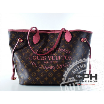 Louis Vuitton Neverfull MM - Limited Edition Rose Velours