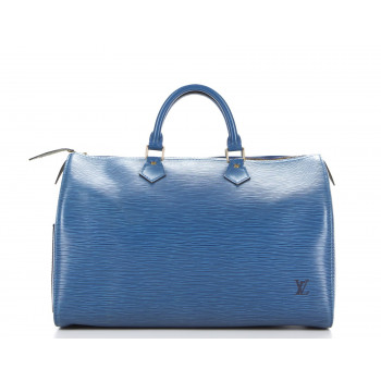 Louis Vuitton Speedy EPI Blue